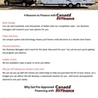 The Friendly Financing Professionals - Canada RV finance