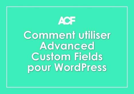 3 façons d'utiliser Advanced Custom Fields pour WordPress | Mes ressources personnelles | Scoop.it