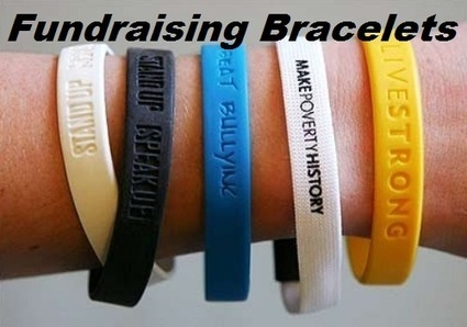 Fundraiser Help: Fundraising Bracelets | Wristbands | Scoop.it