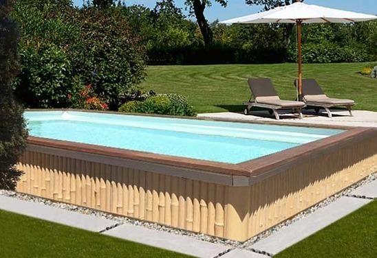 Caron piscines lance zendo une piscine en bamb for Piscine zendo prix