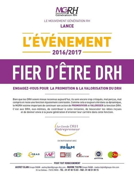 Lancement de l'opération MGRH – FIER D'ETRE DRH | RH EMERAUDE | Scoop.it