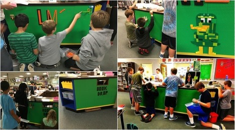 LEGO Desk - Marcia R. Porter - Book Bytes Blog @booksbytesblog  | iPads, MakerEd and More  in Education | Scoop.it
