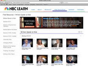 NBC Learn launches 'Writers Speak to Kids' video series | eSchool News | Writing Tools | Scoop.it