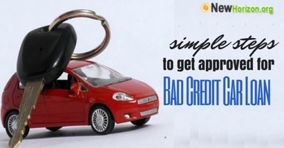 Simple Steps to Get Approved for Bad Credit Car Loan | Money Savings to a better Life | Scoop.it