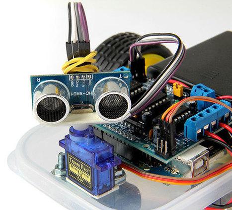 Arduino Masterclass Part 4: Build a mini robot | Arduino in the Classroom | Scoop.it
