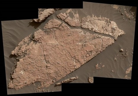 Las primeras grietas de barro en Marte gracias al rover Curiosity | Universo y Física Cuántica | Scoop.it