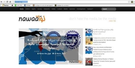 Nawaat, un site de journalisme d'investigation dans le monde arabe | Journalisme & Communication | Scoop.it