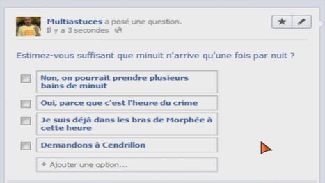 Créer un sondage pour vos | MultiAstuces Eric OTHON | Scoop.it