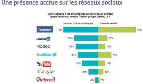 [Ben oui ...] Réseaux sociaux: l'usage business reste minoritaire en entreprise | Médias sociaux & web marketing | Scoop.it