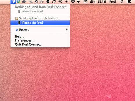 Transférer facilement des fichiers et des données entre son iPhone et son Mac | Au fil du Web | Scoop.it