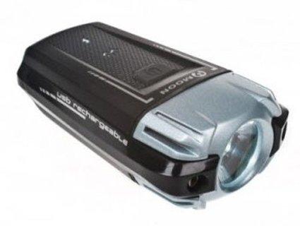 04496bdfa0e Moon Meteor Bike Front Light USB Rechargeable Head Light 200 Lumens  Blackblack