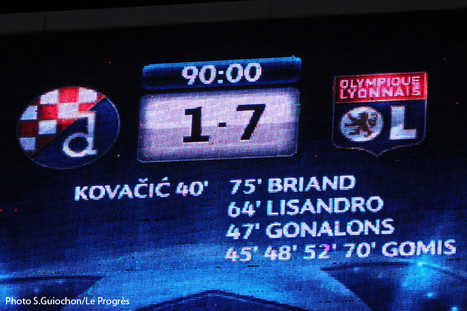 LYon-Sports.fr: OL Zagreb, une victoire très contestée   LYFtv - Lyon   Scoop.it