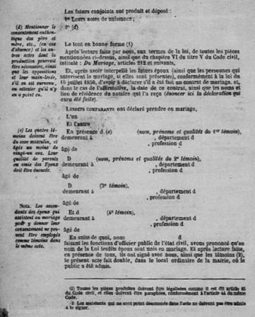 La tenue des registres de l'état civil au 19e siècle | Genéalogie | Scoop.it