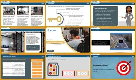 eLearning Templates' in custom elearning | Scoop it