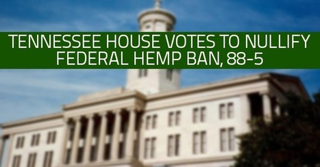 Tennessee house votes to nullify federal hemp ban, 88-5 | GMOs & FOOD, WATER & SOIL MATTERS | Scoop.it