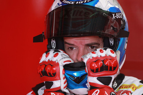 A fresh new start for Carlos Checa [interview]   Ducati news   Scoop.it