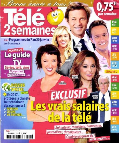 Salaire des stars de la télé: le grand déballage | DocPresseESJ | Scoop.it