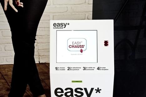 La Halle aux Chaussures installe des bornes tactiles dans ses magasins | Cross canal | E-Marketing | Scoop.it
