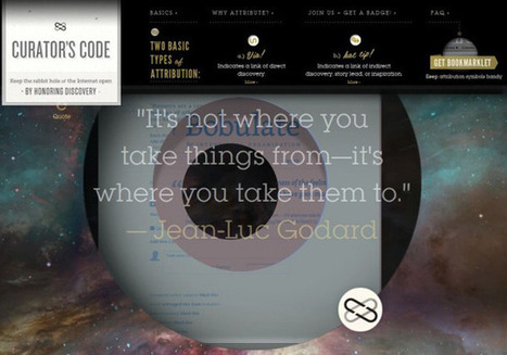 It's Nice That : The Curator's Code | Curate your Learning | Scoop.it