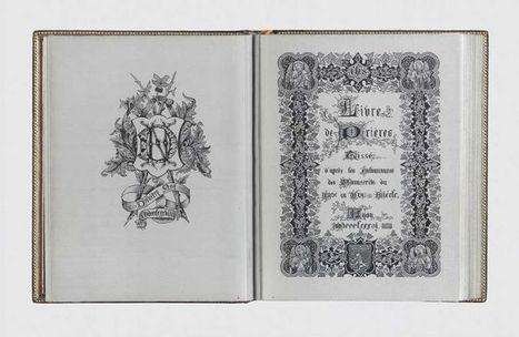 Bookmarking Book Art - LIVRE DE PRIÈRES tissé d'après les Enluminures des Manuscrits du XIVe au XVIe Siècle | Books On Books | Scoop.it