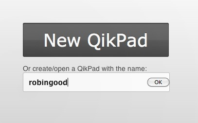 Instant Collaborative Document Pad: QikPad   Online Collaboration Tools   Scoop.it