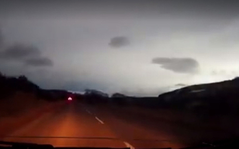 Flash in sky over Scotland triggers meteor speculation | My Scotland | Scoop.it