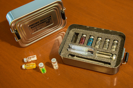 Scientists develop a portable drug-manufacturing system for vaccines | Amazing Science | Scoop.it