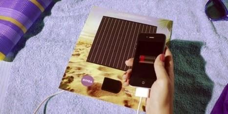 Nivea recarga tu móvil con un anuncio impreso | Aimaro 3.0 | Scoop.it