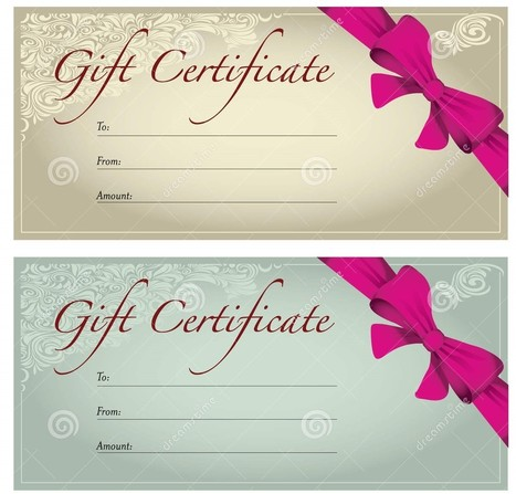 10 Printable Travel Gift Certificate Template