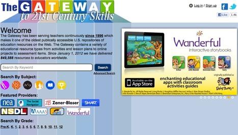 Gateway to 21st Century Skills | iLibrarian: Teaching the iGeneration with an iAttitude. | Scoop.it