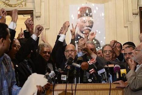 """Jan28: #Egypt's opposition rejects talks with president #Morsi, """"We will not go to the dialogue today,"""" 