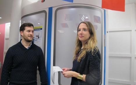 Cette cabine connectée offre un bilan de santé en 10 min aux étudiants- Le Parisien #doctors20 | Médecins & Patients 2.0 | Scoop.it