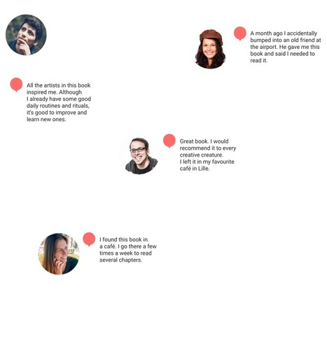 Boookstory - beautiful network for book readers   Reading discovery   Scoop.it