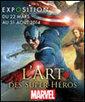 L'ART DES SUPER-HEROS MARVEL   - ART LUDIQUE le musée à PARIS 13 - Musée | Paris Secret et Insolite | Scoop.it