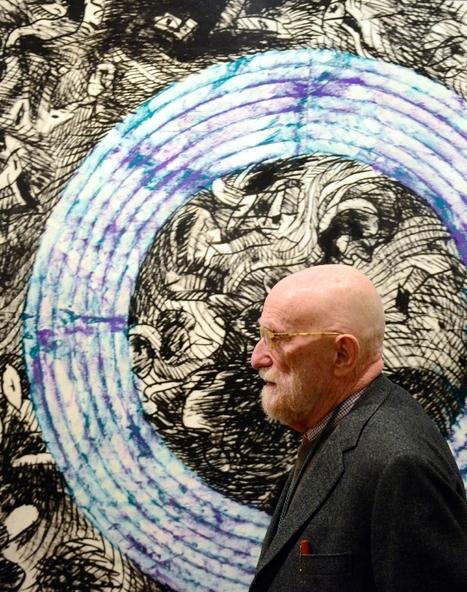 Madrid: grande rétrospective du peintre belge Pierre Alechinsky | Arts & Creators - Des Arts et des Créateurs | Scoop.it