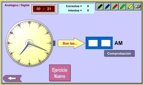 Reloj digital-analógico   Revista GenMagic   Scoop.it