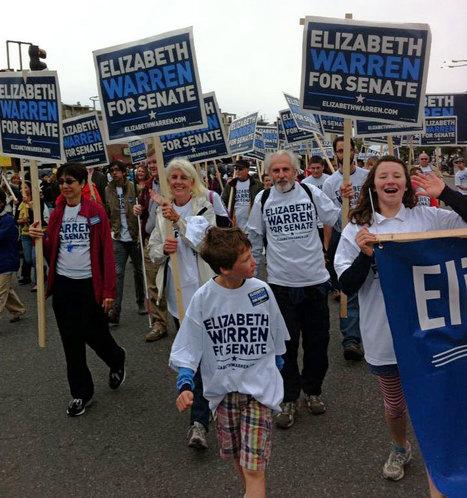 "photo: ""When I say Senator, you say WARREN"" #Eastie Parade, Columbus Day Weekend | Massachusetts Senate Race 2012 | Scoop.it"