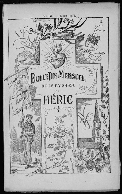 Les guerres à travers les almanachs et bulletins paroissiaux - [Archives départementales de Loire-Atlantique] | Histoire 2 guerres | Scoop.it