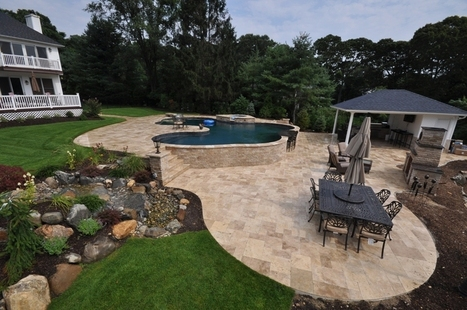 How to Revamp Your Patio from Dull to Cozy - Travertine Pavers Direct | Home Renovation | Scoop.it