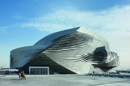Dalian International Conference Center: Technology, Construction & Sustainability | sustainable architecture | Scoop.it