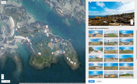 My Google Street View: Island Chausey Normandy, France | moulin360panoramic | Scoop.it
