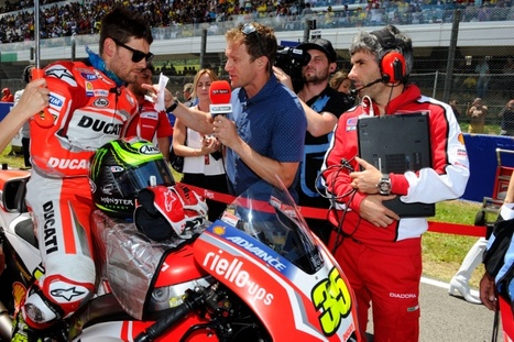 Crutchlow 'so sorry' for Bradl | Ductalk Ducati News | Scoop.it