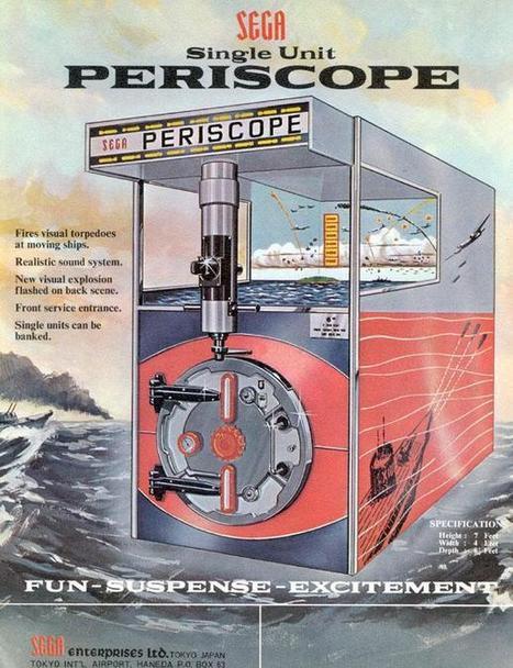 1968 Sega Periscope coin operated gun game arcade | Gaming Games | Scoop.it