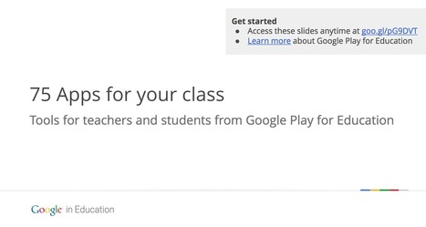 75 apps de Google para tus clases | Profesores TIC | Scoop.it