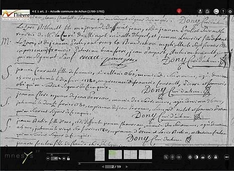 Les archives de la Nièvre (58) complètent les registres en ligne | généa-brico | L'écho d'antan | Scoop.it