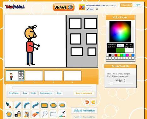 DisaPainted, dibuja y crea animaciones para compartir | EDUDIARI 2.0 DE jluisbloc | Scoop.it
