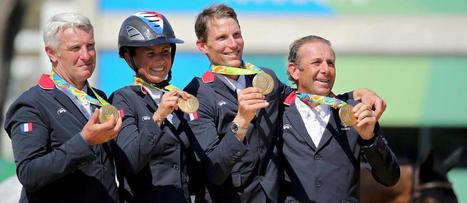 JO 2016 - Équitation : les Rozier, champions olympiques de père en fils   Cheval et sport   Scoop.it