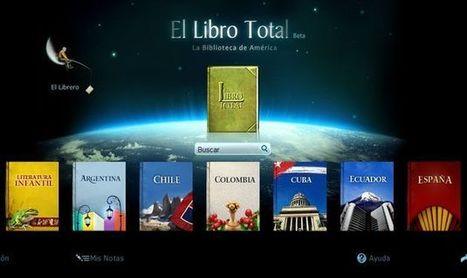 El Libro Total, una biblioteca online indispensable para los aficionados a la lectura | E-Learning, M-Learning | Scoop.it