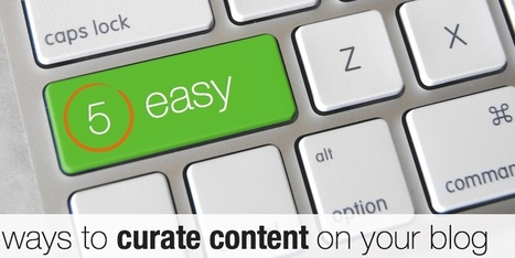 5 easy ways to curate content on your blog | Scoop.it Blog | Scoop.it Tips | Scoop.it