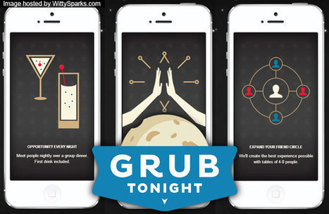GrubTonight app makes sure you don't eat alone! | Vertical Farm - Food Factory | Scoop.it